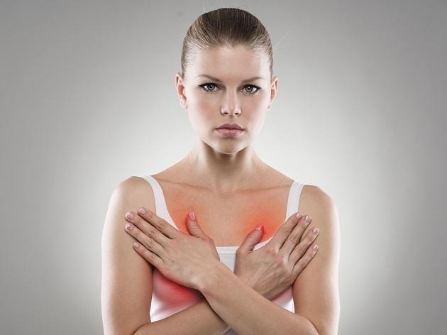 Сильно болит грудь после овуляции
