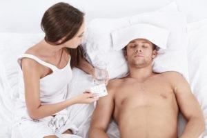 Женщина и больной муж