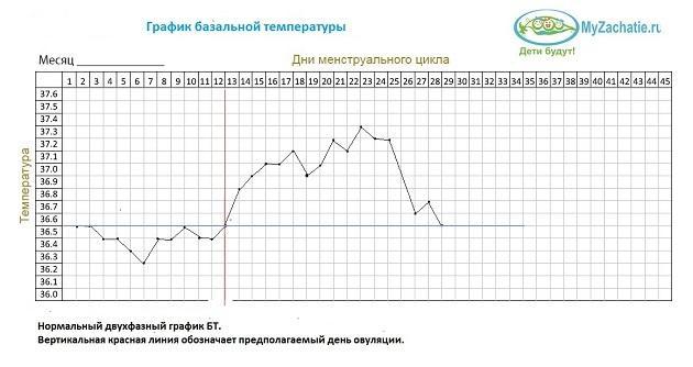 Двухфазный график БТ