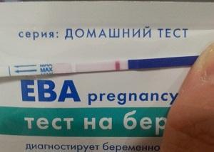 Ева тест на беременность