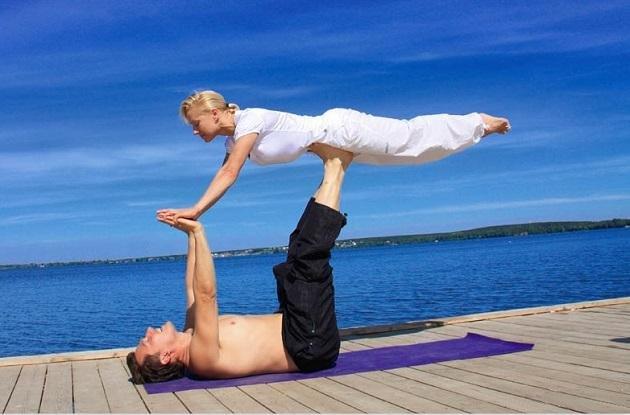 йога вдвоем