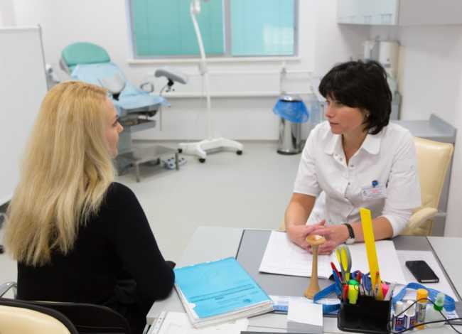 консультация гинеколога при спайках