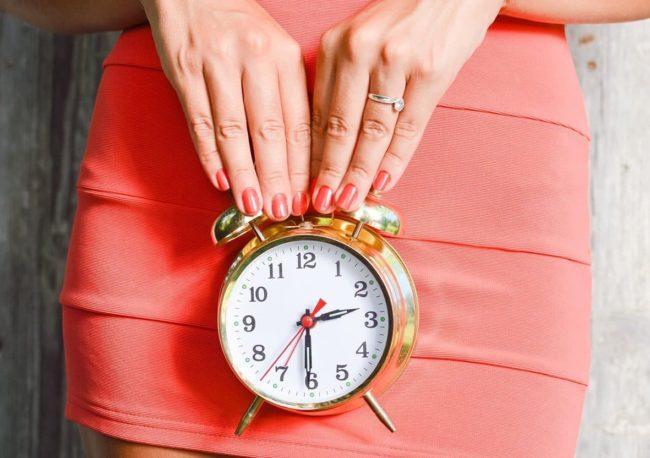 первый день цикла менструации
