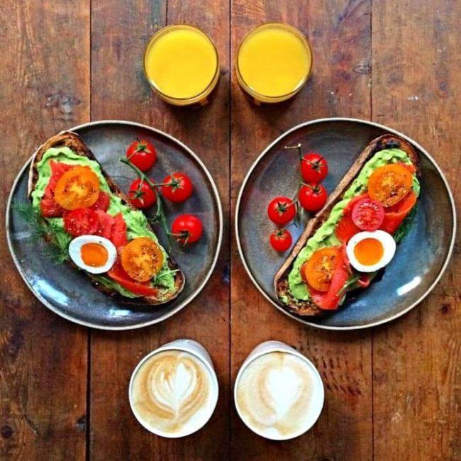 завтрак для двоих ПП