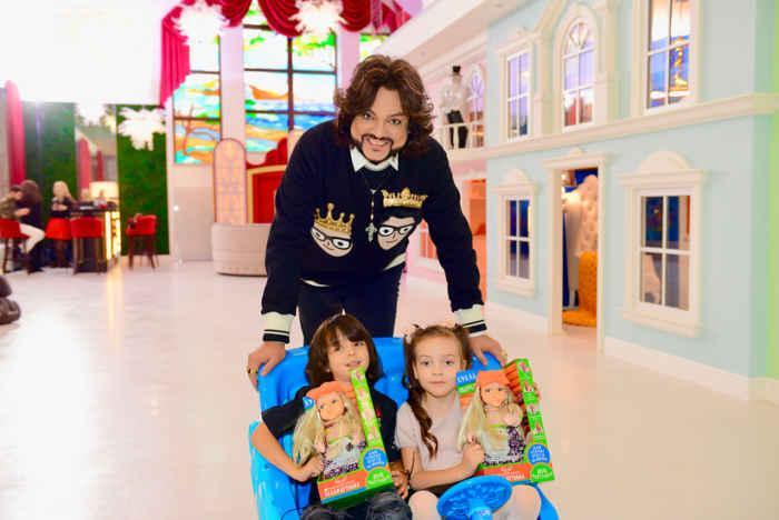 Филипп Киркоров и его детки