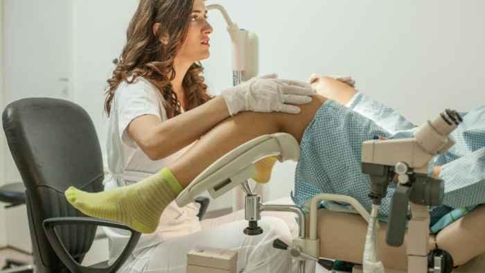 лечение эктопии на приеме у врача