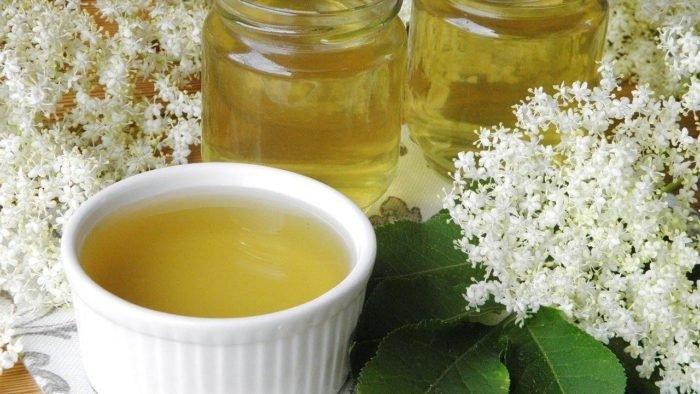 чай из цветков бузины от бесплодия