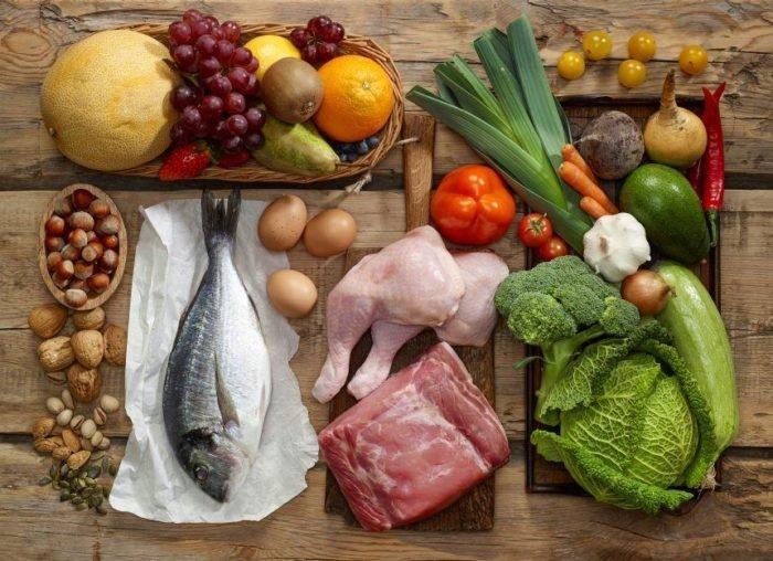 здоровое питание мужчины