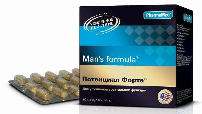 таблетки Потенциал Форте