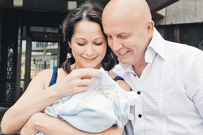 Ольга Кабо и рождение малыша